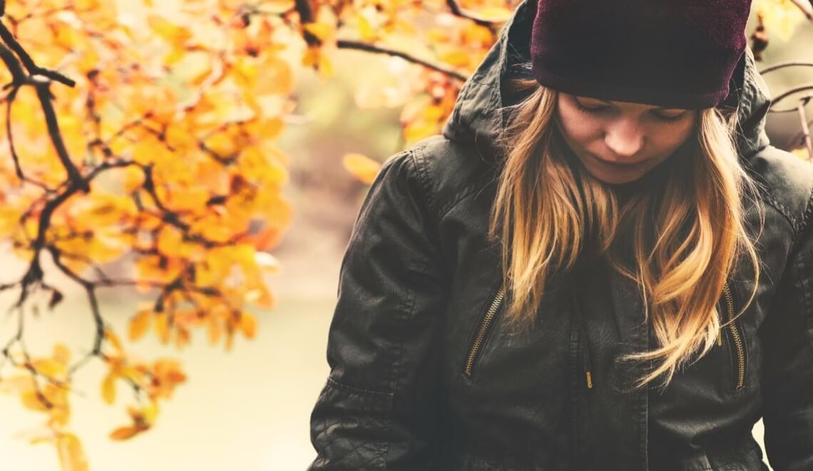 ddepressione stagionale che colpisce in autunno