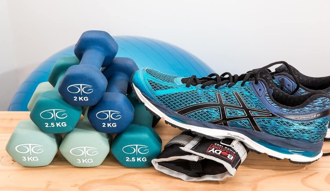 attrezzi per attività fisica