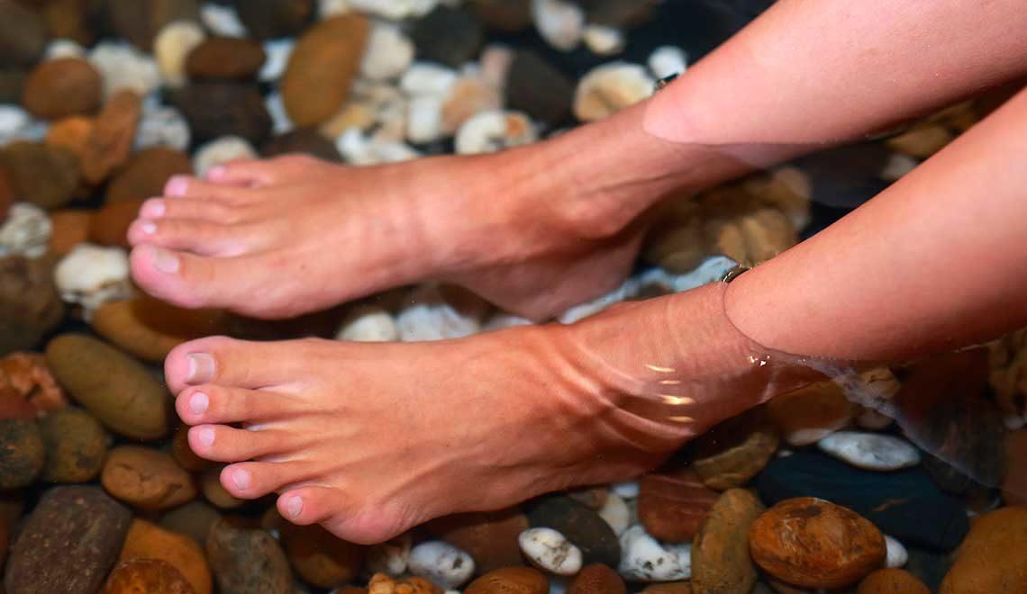 Sudorazione dei piedi: quali prodotti usare